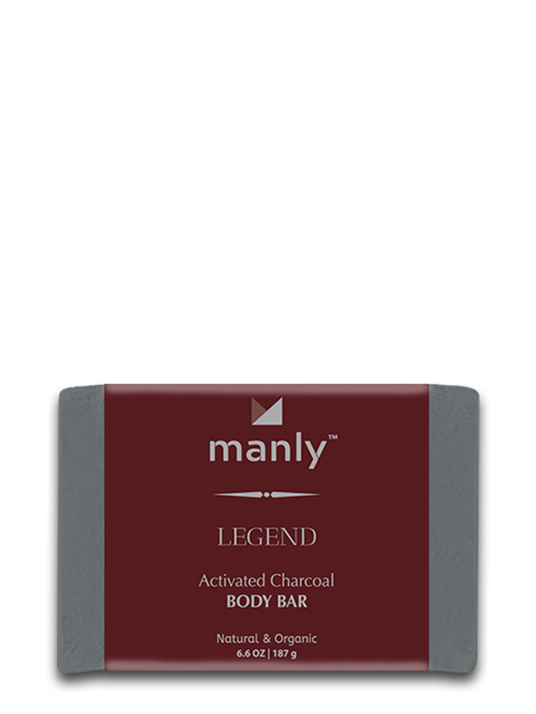 LEGEND Activated Charcoal Body Bar