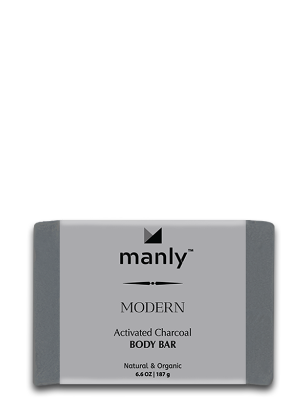 MODERN Activated Charcoal Body Bar