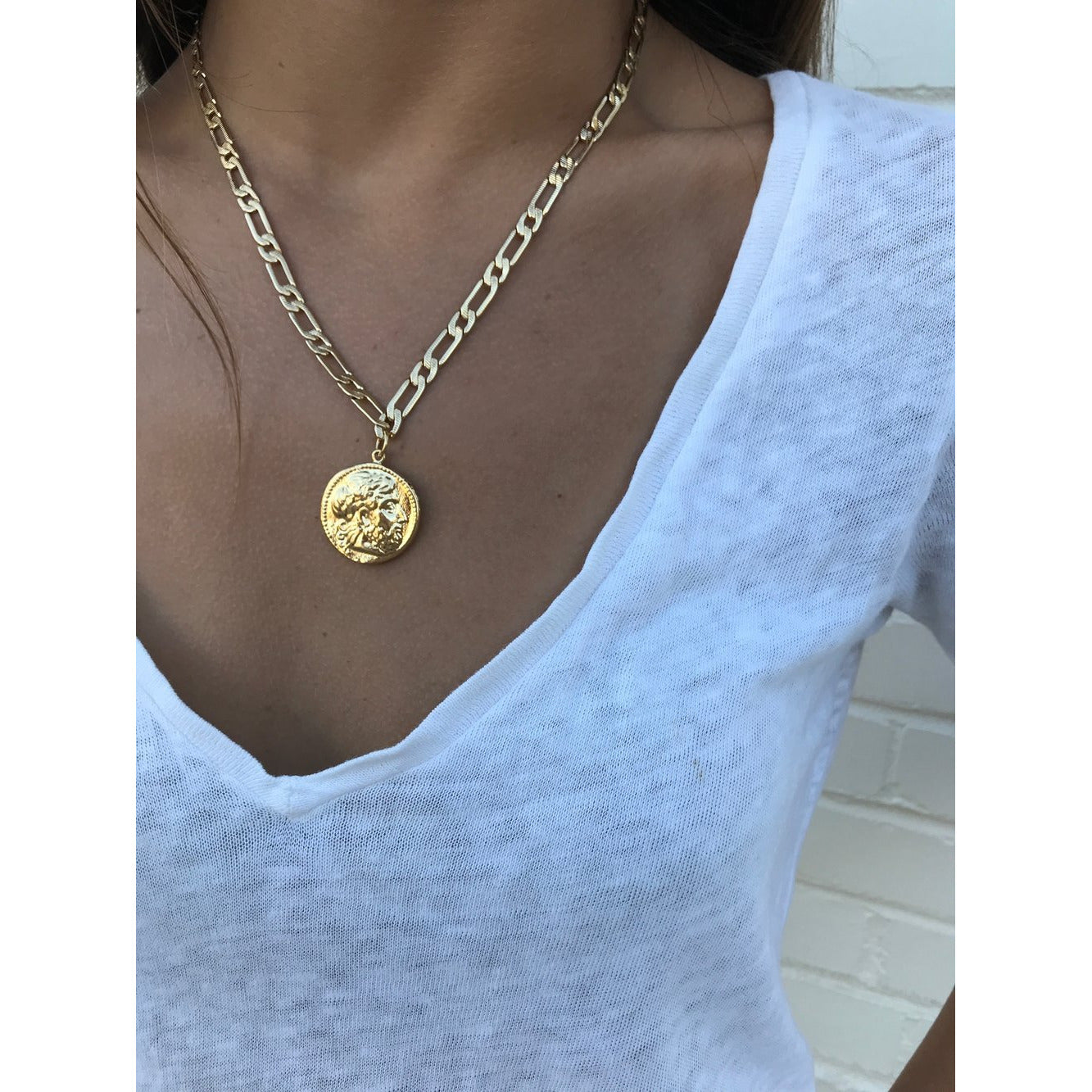 Best Selling Gold Jersey + Coin Necklace