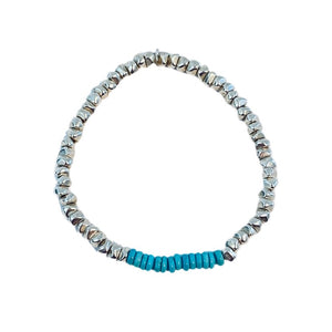 Silver // Turquoise Bracelet