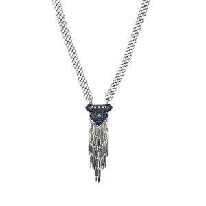 Silver Lauren Necklace