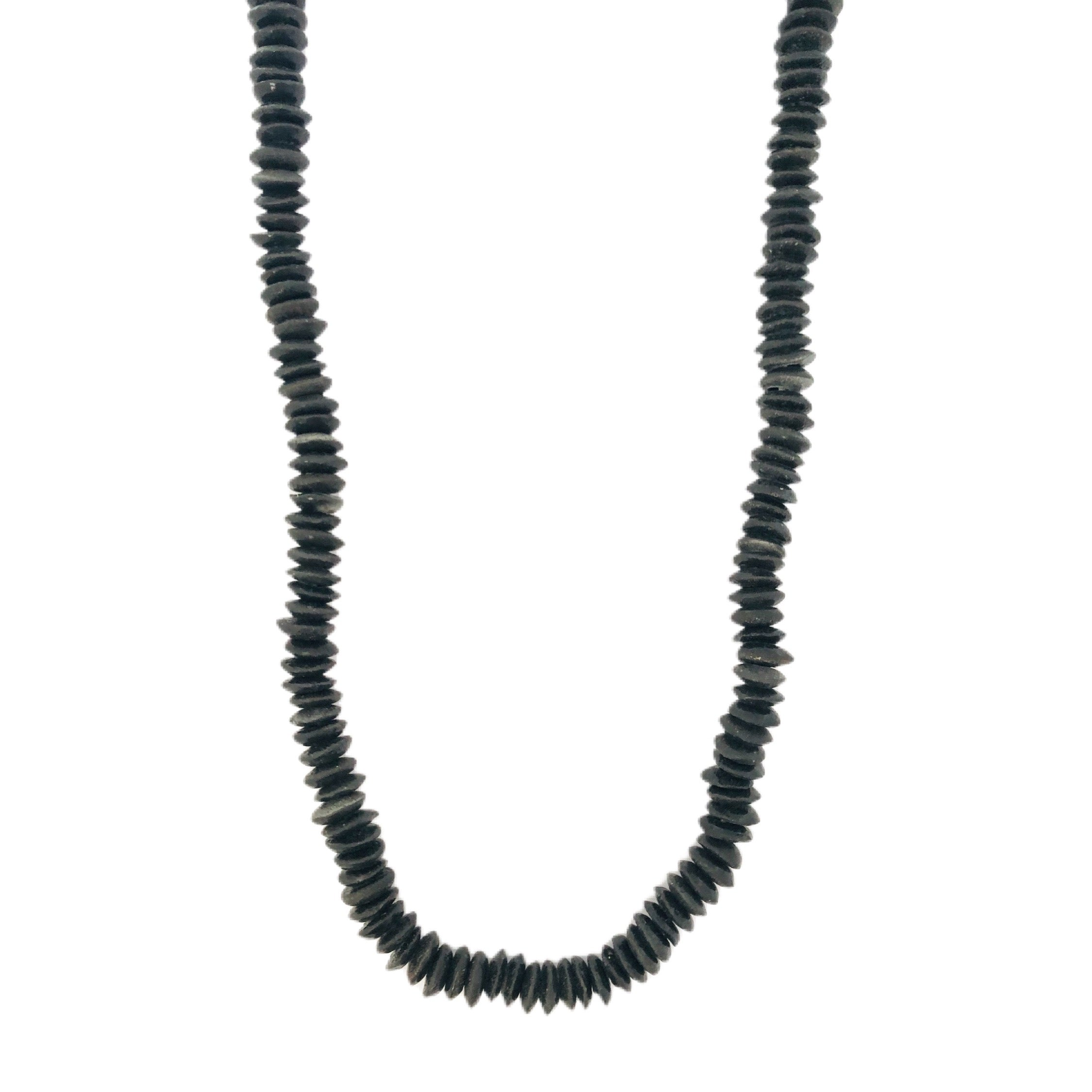 Long Black ATB Necklace