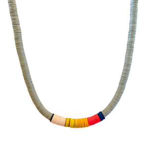 Grey // Multi-Color Heshi Choker