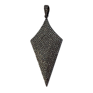Pave Diamond Spear Pendant