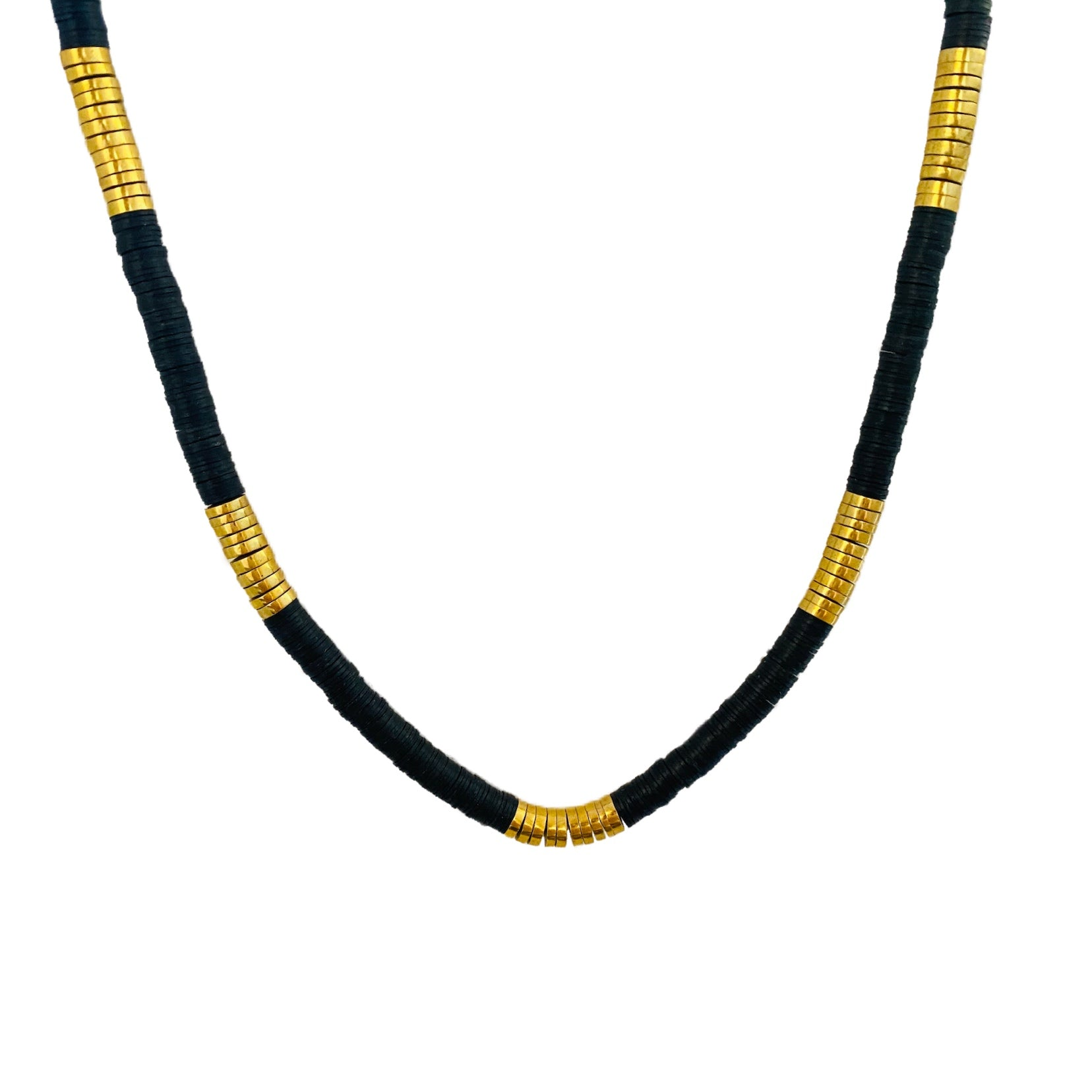 Black // Gold Heshi Necklace