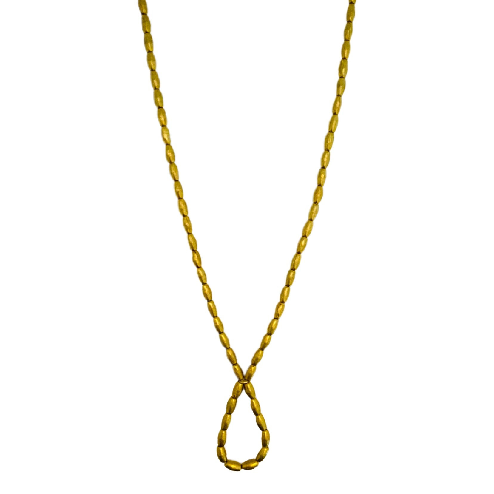 Long Gold Gather Necklace