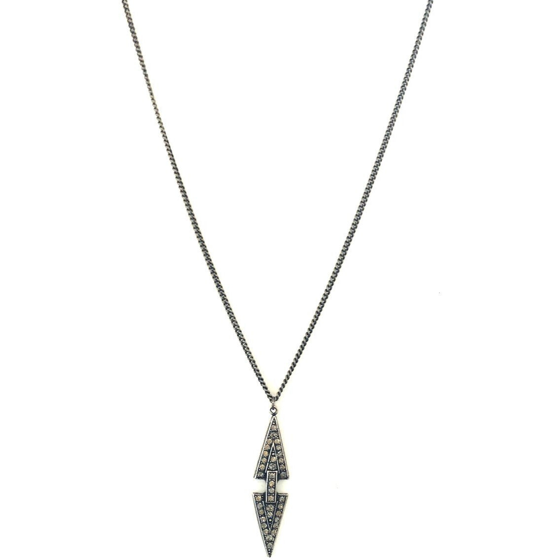Best Selling Double Silver Arrow Necklace