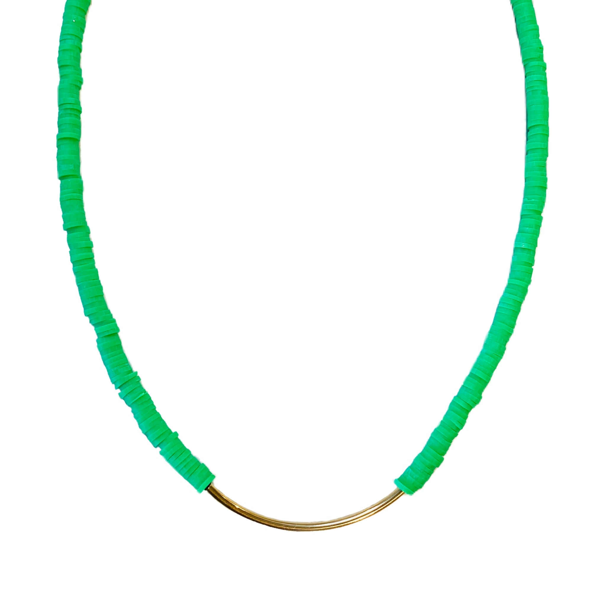 Green GoGo Tube Choker