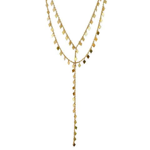 Gold Diane Funky Necklace