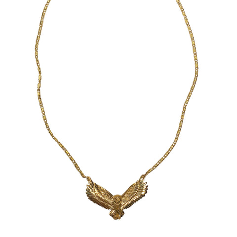 Gold Festoon Necklace
