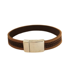 Dude. Saddle Braid Bracelet