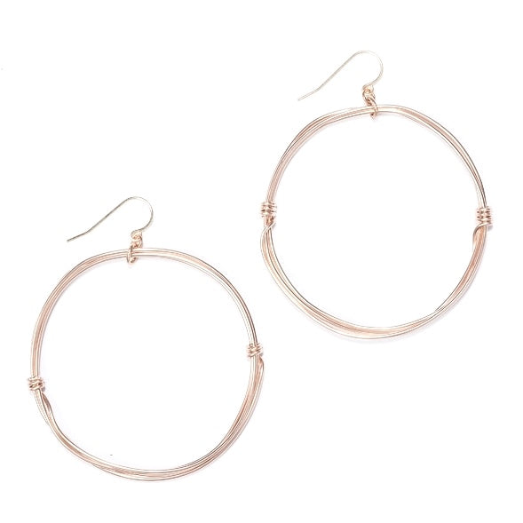 Best Selling Rose Gold Kaylee Earring