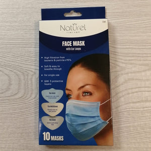 Naturel Finland face mask 10kpl