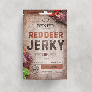 Red deer jerky chili & lime 25g