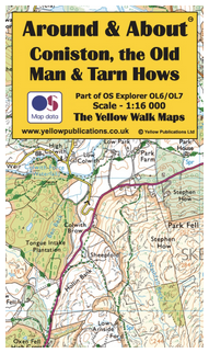 Map - Coniston, the Old Man & Tarn Hows