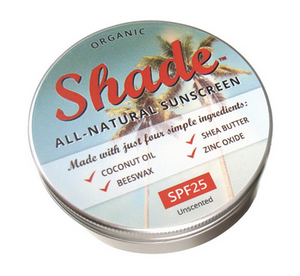 Shade Suncreen - All natural - SPF 25