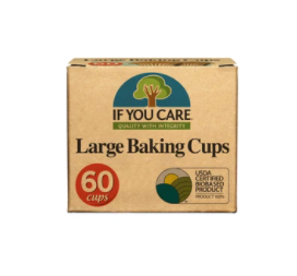If you care - large baking cups - compostable!