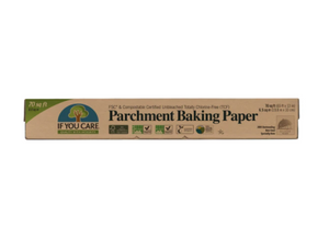 If you care - parchment paper - compostable!