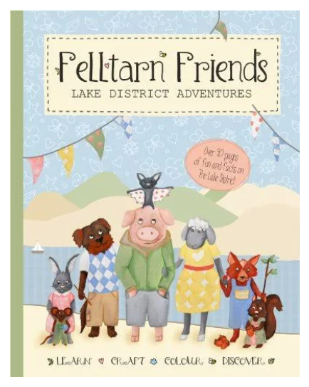 Felltarn Friends - Lake District - adventure book