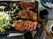 Load image into Gallery viewer, Bank Ground Farm meat box - Family BBQ inc British charcoal (frozen)