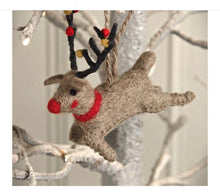 Load image into Gallery viewer, Christmas - reindeer tree decoration