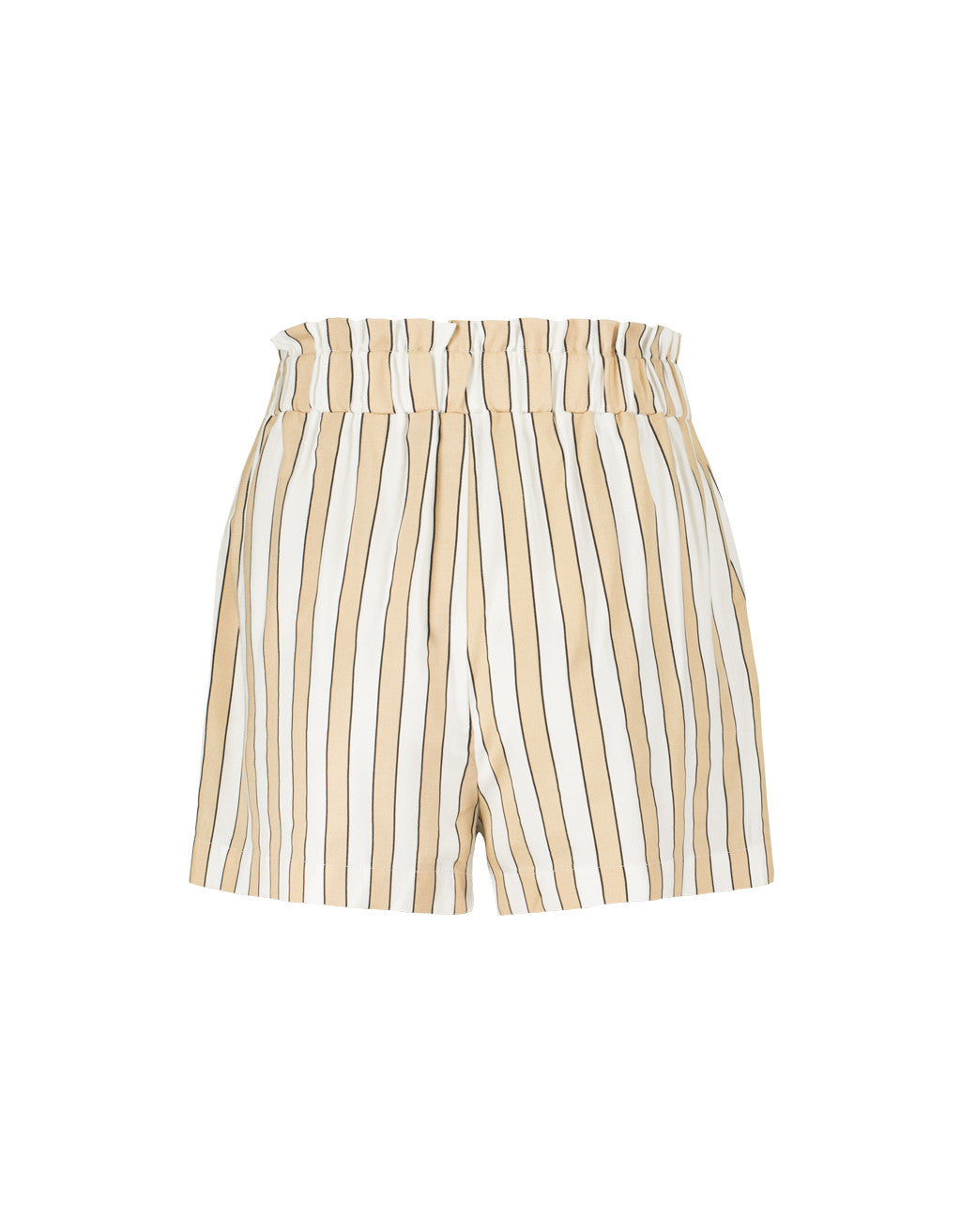 Shorts | Indian Tan2-White
