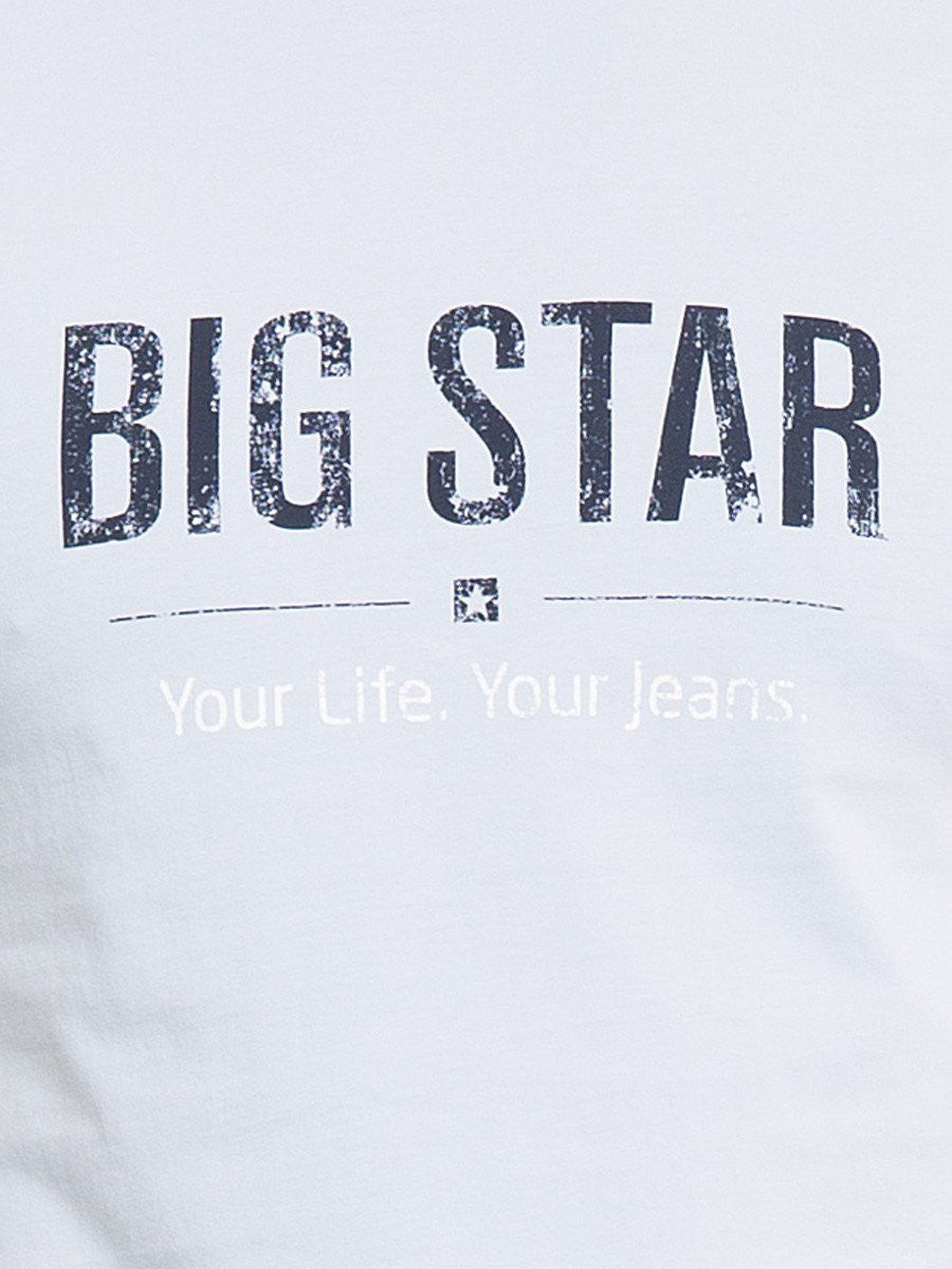 T.Shirt BIG STAR Logo | Light Blue