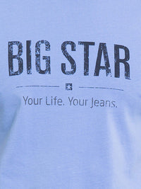 T.Shirt BIG STAR Logo | Medium Blue