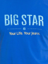T.Shirt BIG STAR Logo | Vibrant Blue