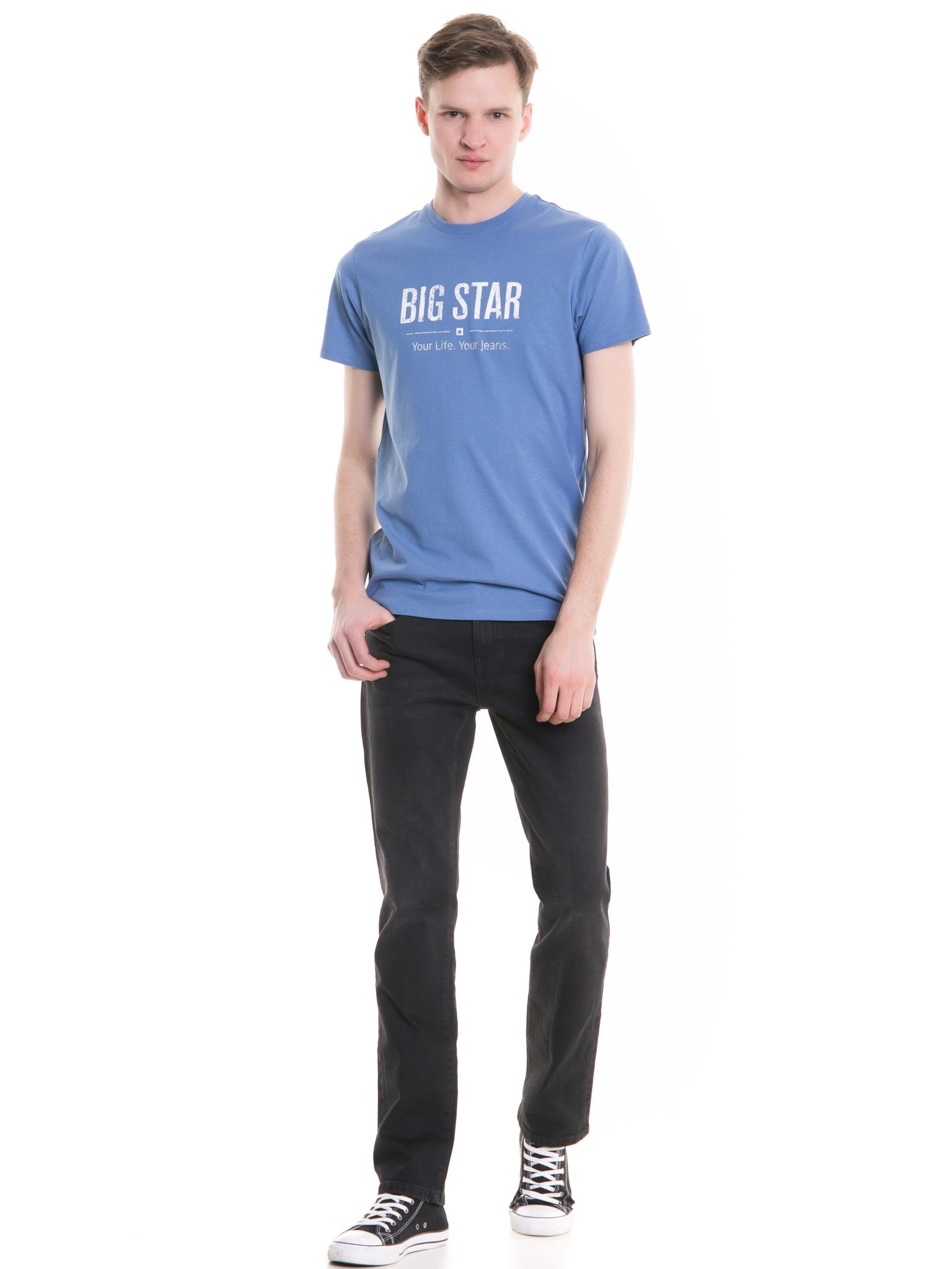 T.Shirt BIG STAR Logo | Cool Blue