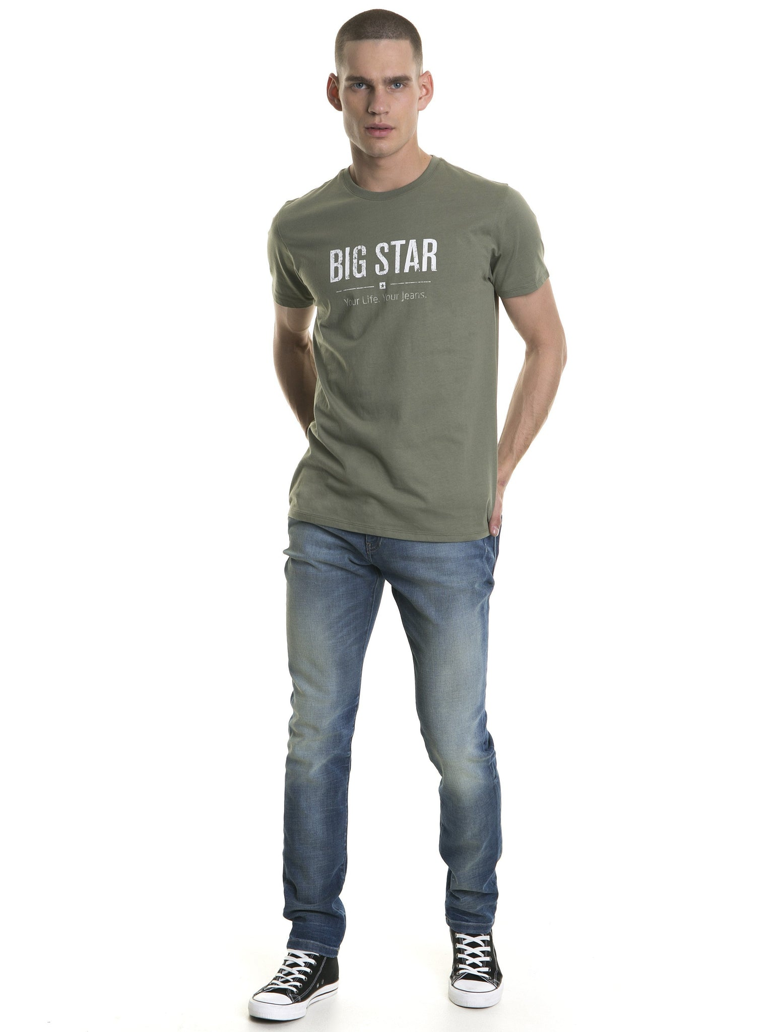 T.Shirt BIG STAR Logo | Green