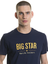 T.Shirt BIG STAR Logo | Navy