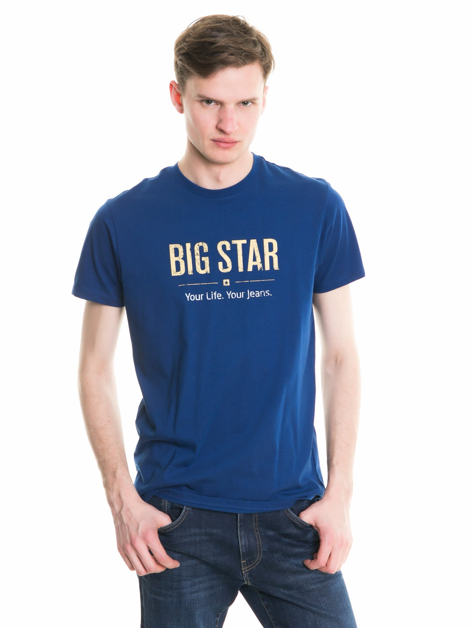 T.Shirt BIG STAR Logo | Deep Blue