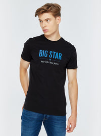T.Shirt BIG STAR Logo | Black