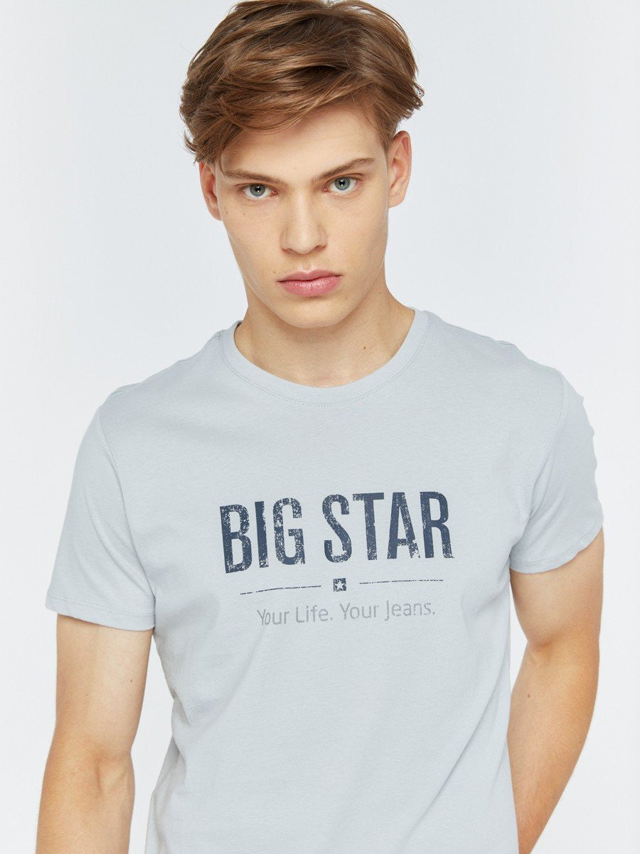 T.Shirt BIG STAR Logo | Light Grey
