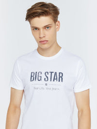 T.Shirt BIG STAR Logo | White