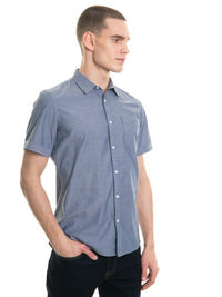 Shirt Short Sleeve | Blue