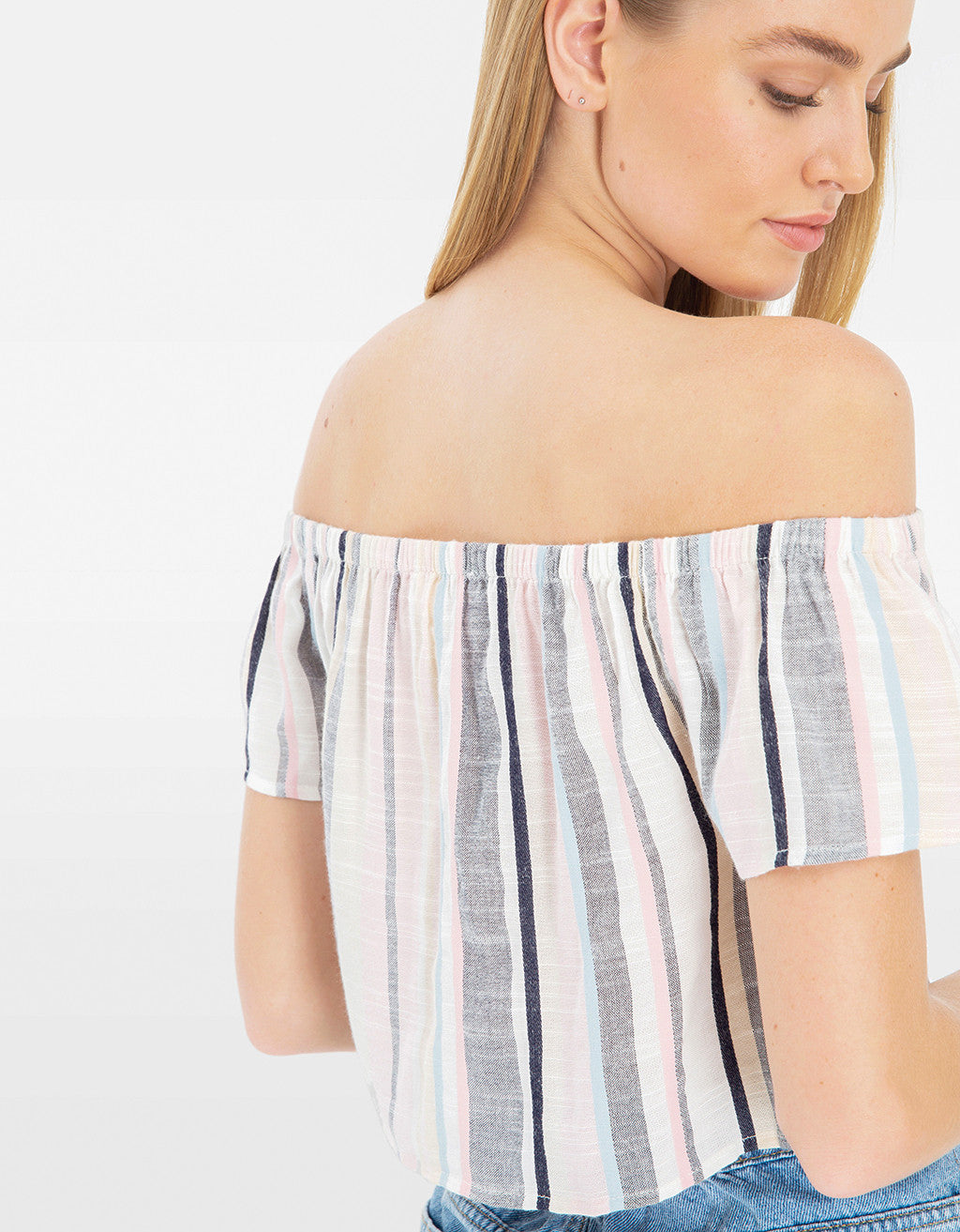 Shoulder Blouse | Skyway-Off White