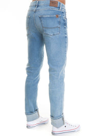 Jeans Regular Fit - High Waist | Light Blue Denim