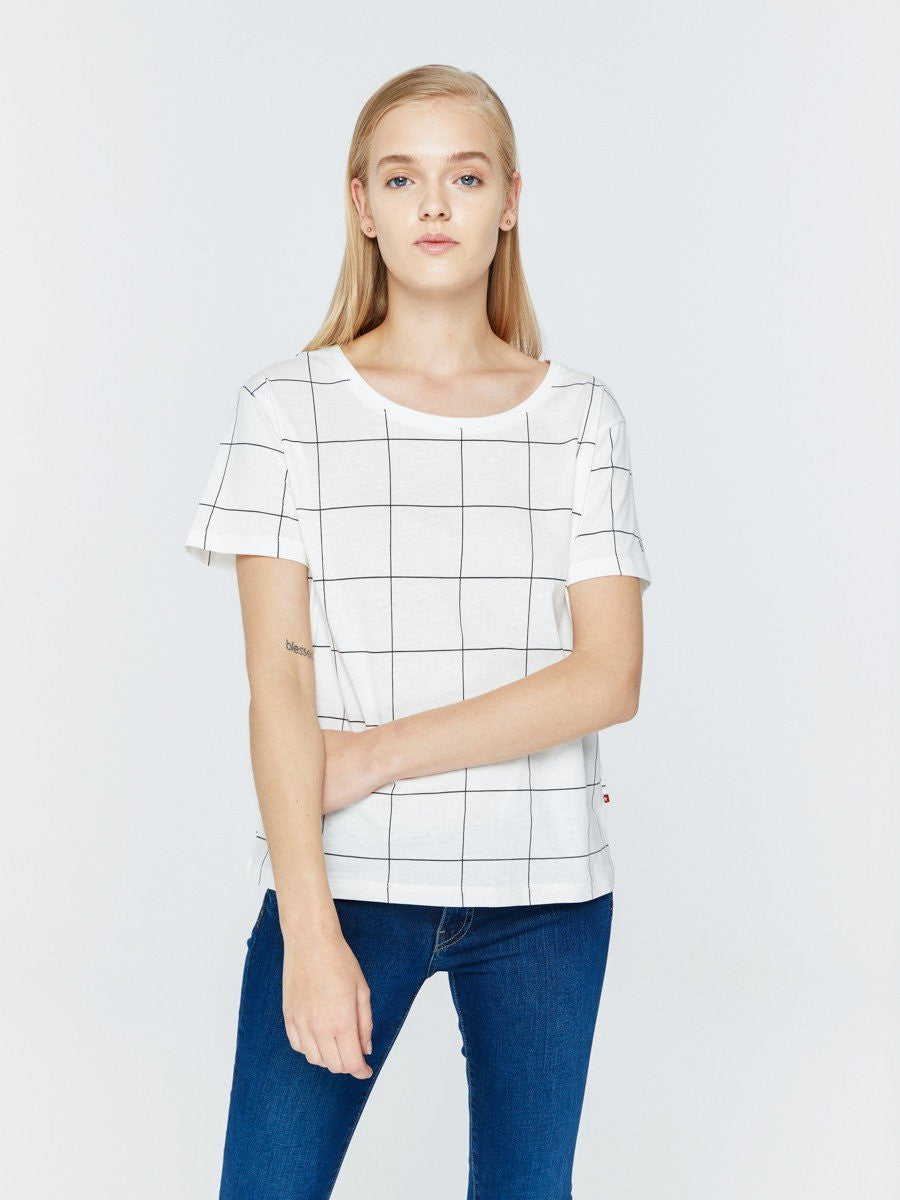 T.Shirt with Stripes | White
