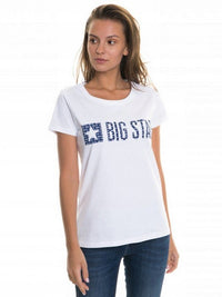 T.Shirt with Bigstar Logo | White
