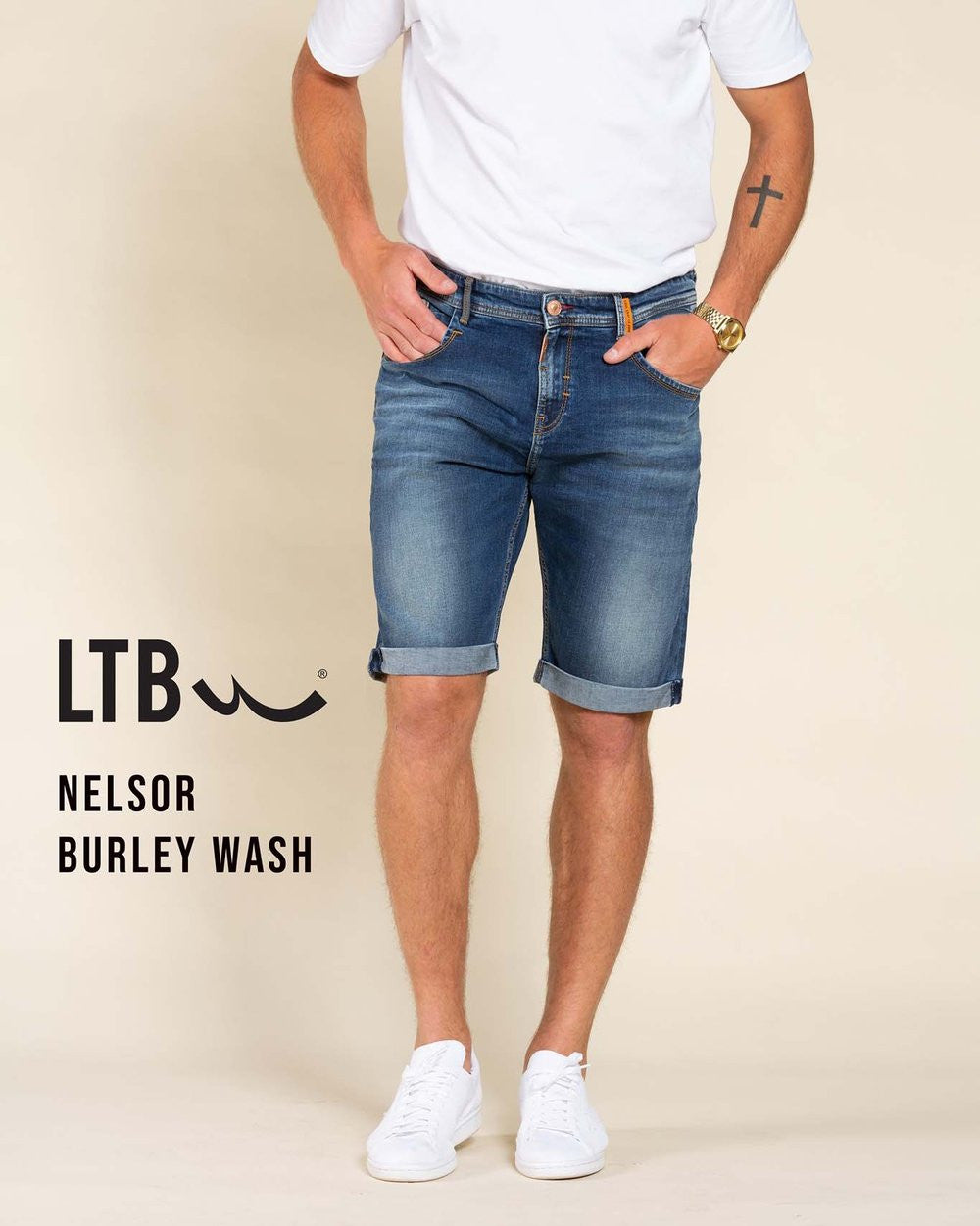 Bermuda Denim | Burley Undamaged Wash