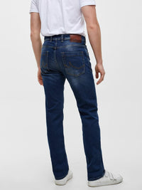 Jeans Straight Fit - Mid Rise | Sentido Wash