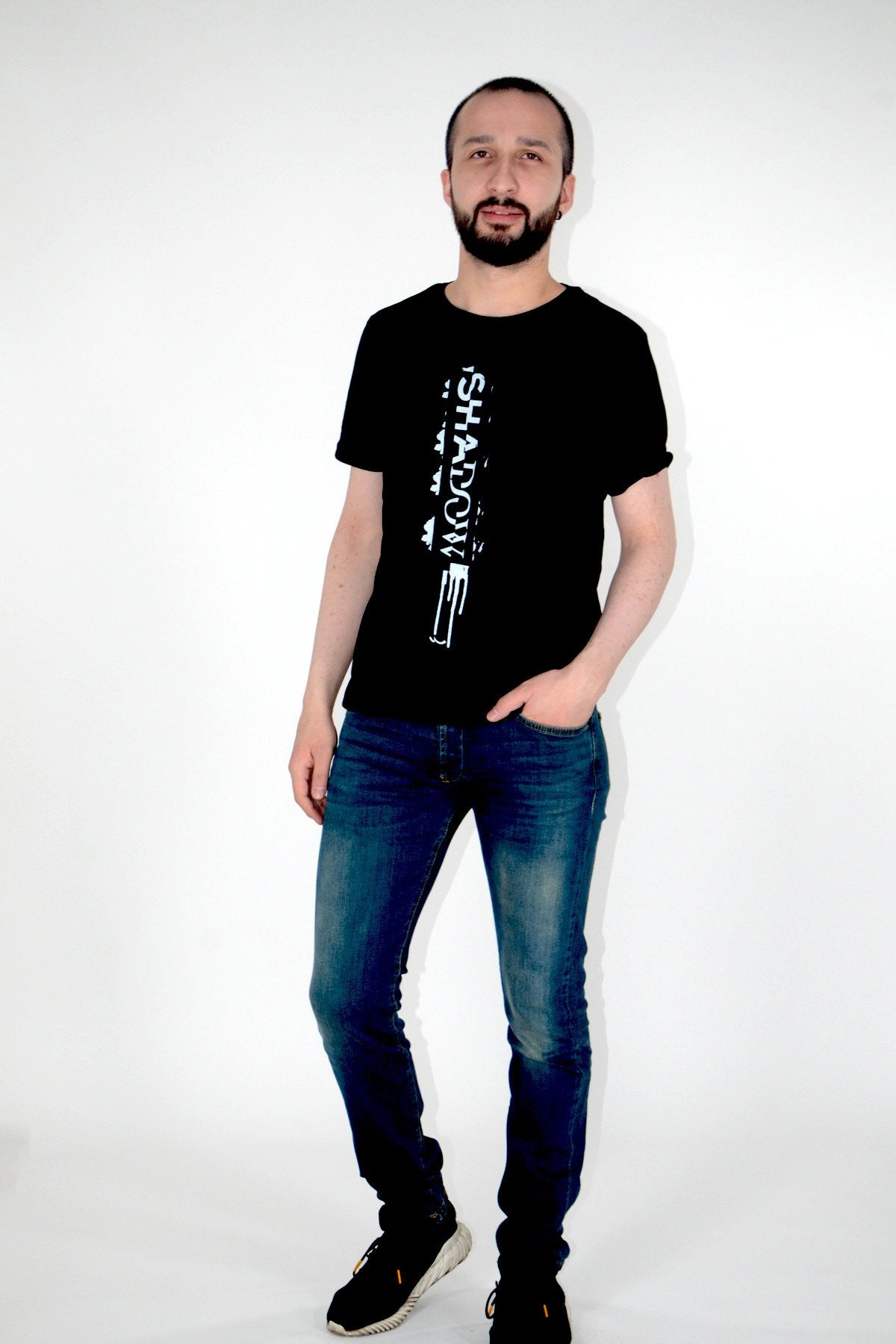 T.Shirt With Print | Black