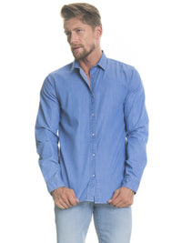 Shirt Long Sleeve Denim | Blue