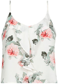 Top | Off White - Floral Print
