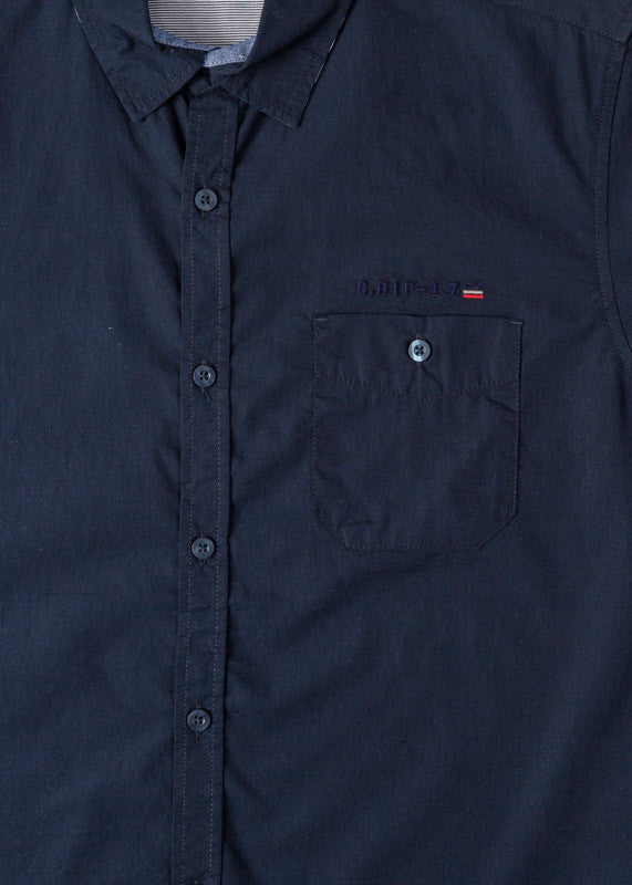 Shirt Short Sleeve | Navy