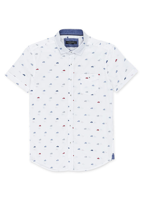 Shirt Short Sleeve | White