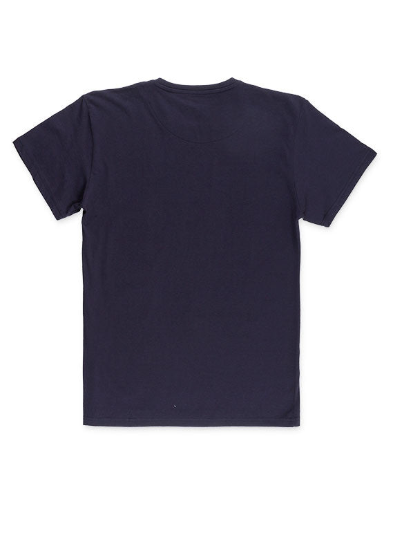 T.Shirt With Print | Light Navy