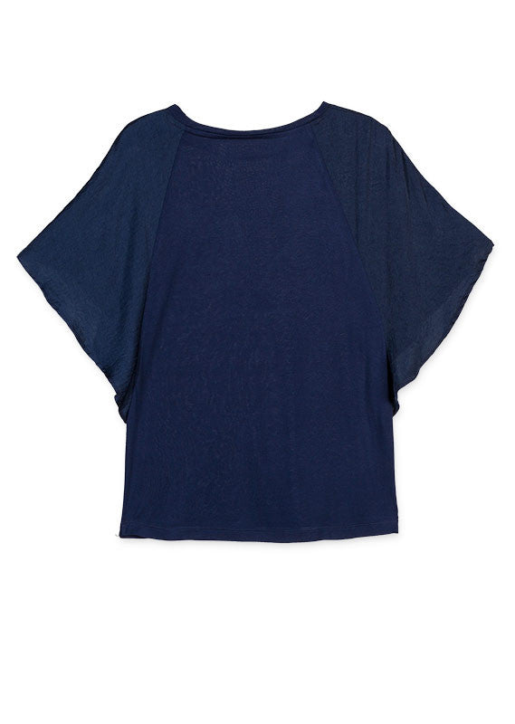 Top Short Sleeve | Navy